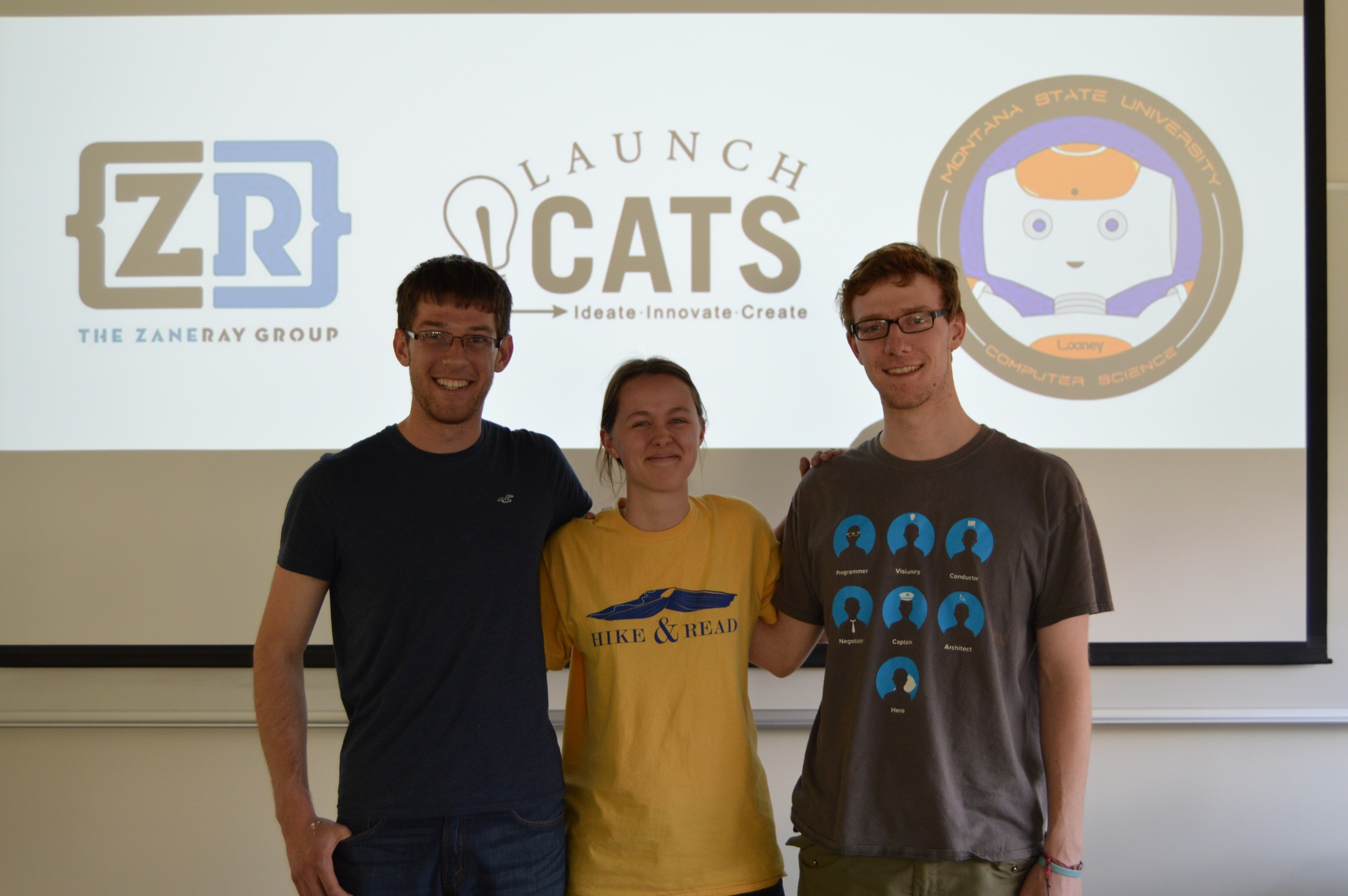 Team Stupid Code takes 2nd Place. They built a 3D game set in 1918 France centered around the journey of a woman searching for her MIA husband. In their demo you got to experience her journey as she traveled from paris to the battle-torn Vimy Ridge.