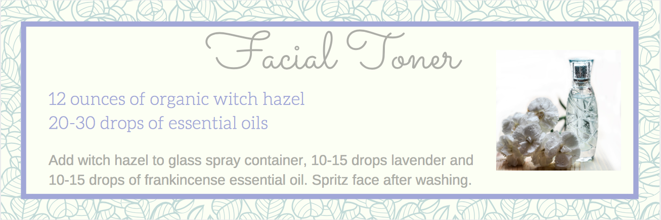 face tonic krystal couture essential oils