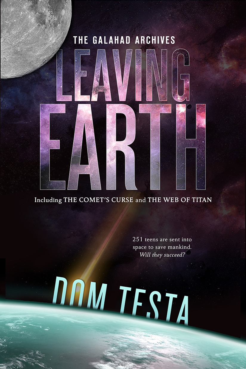 Book 1: Leaving Earth, available everywhere