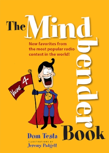 Mindbender Book Volume 4 is coming in October! It will be available to Mindbender Club members first!