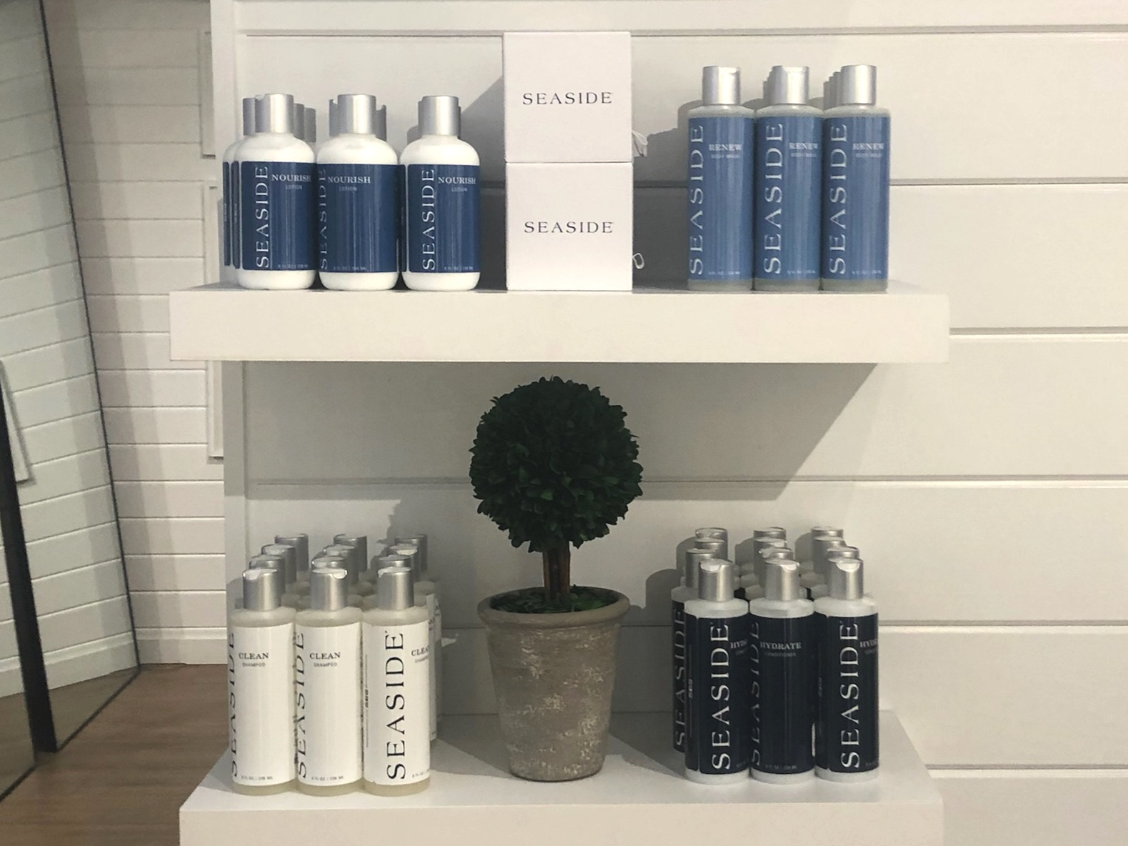 """Essence of Seaside"" - A unique fragrance now available in our new body and hair care products exclusively available in Seaside, FL. By Shine On Living"
