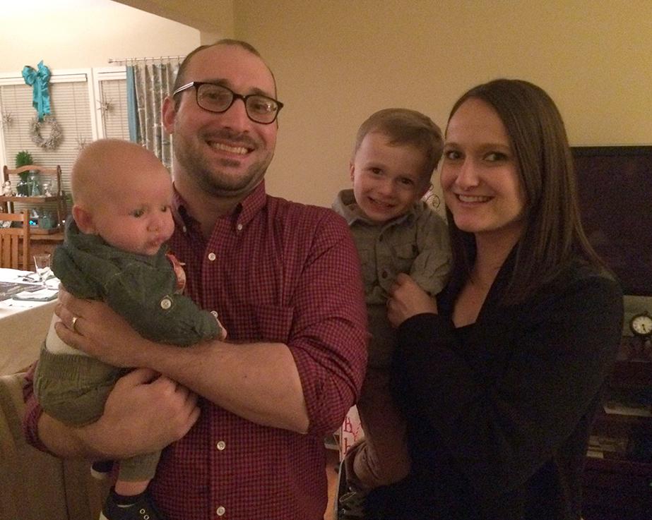 Dominic Aratari and his beautiful family.