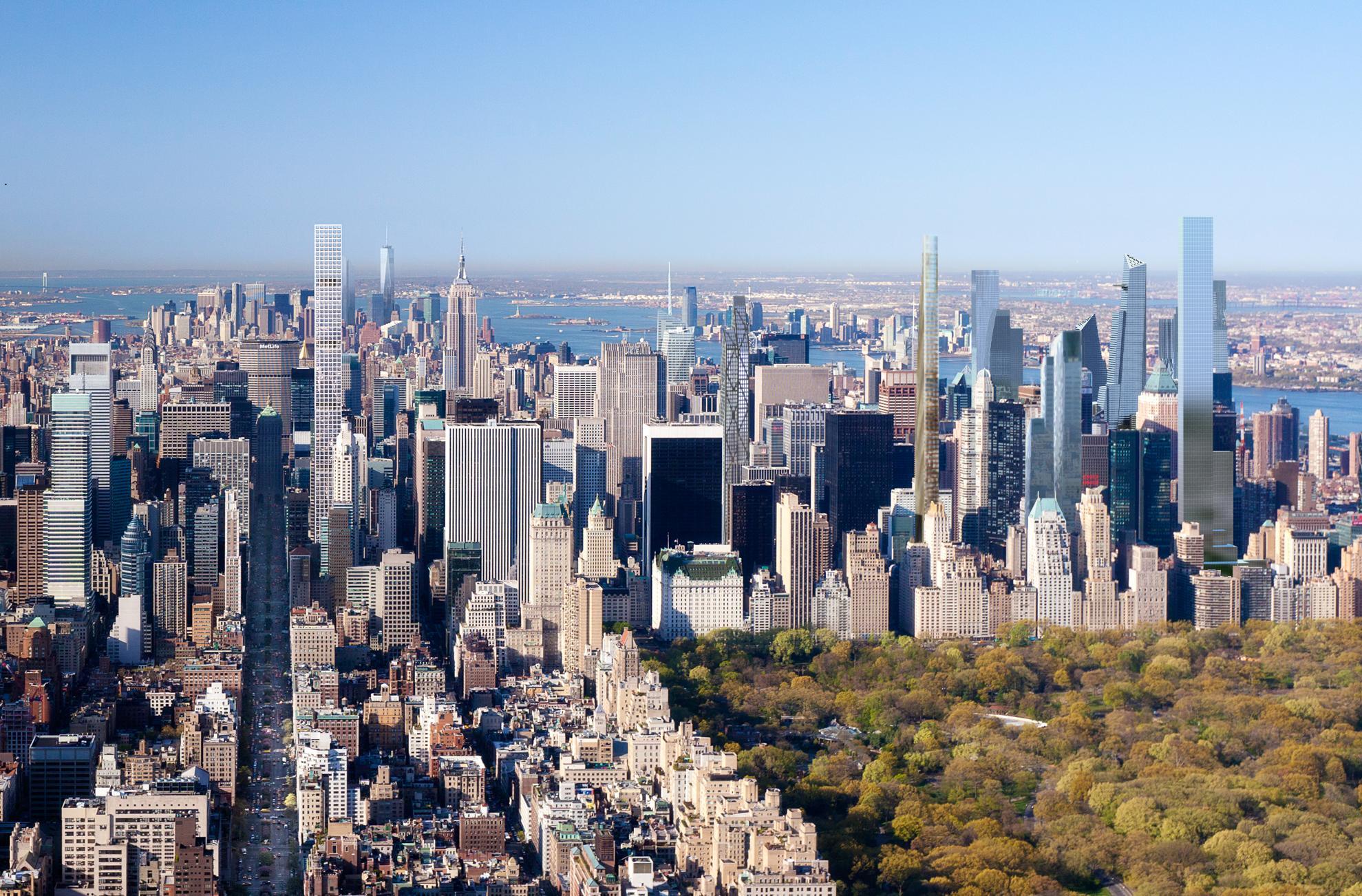 Mid-town Manhattan, New York