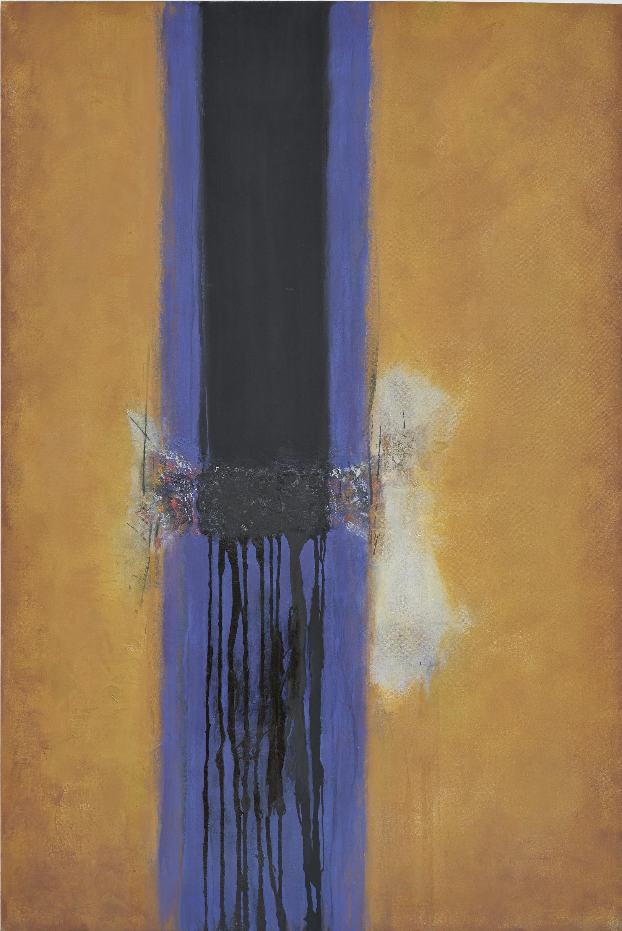 Untitled (Yellow & Blue)