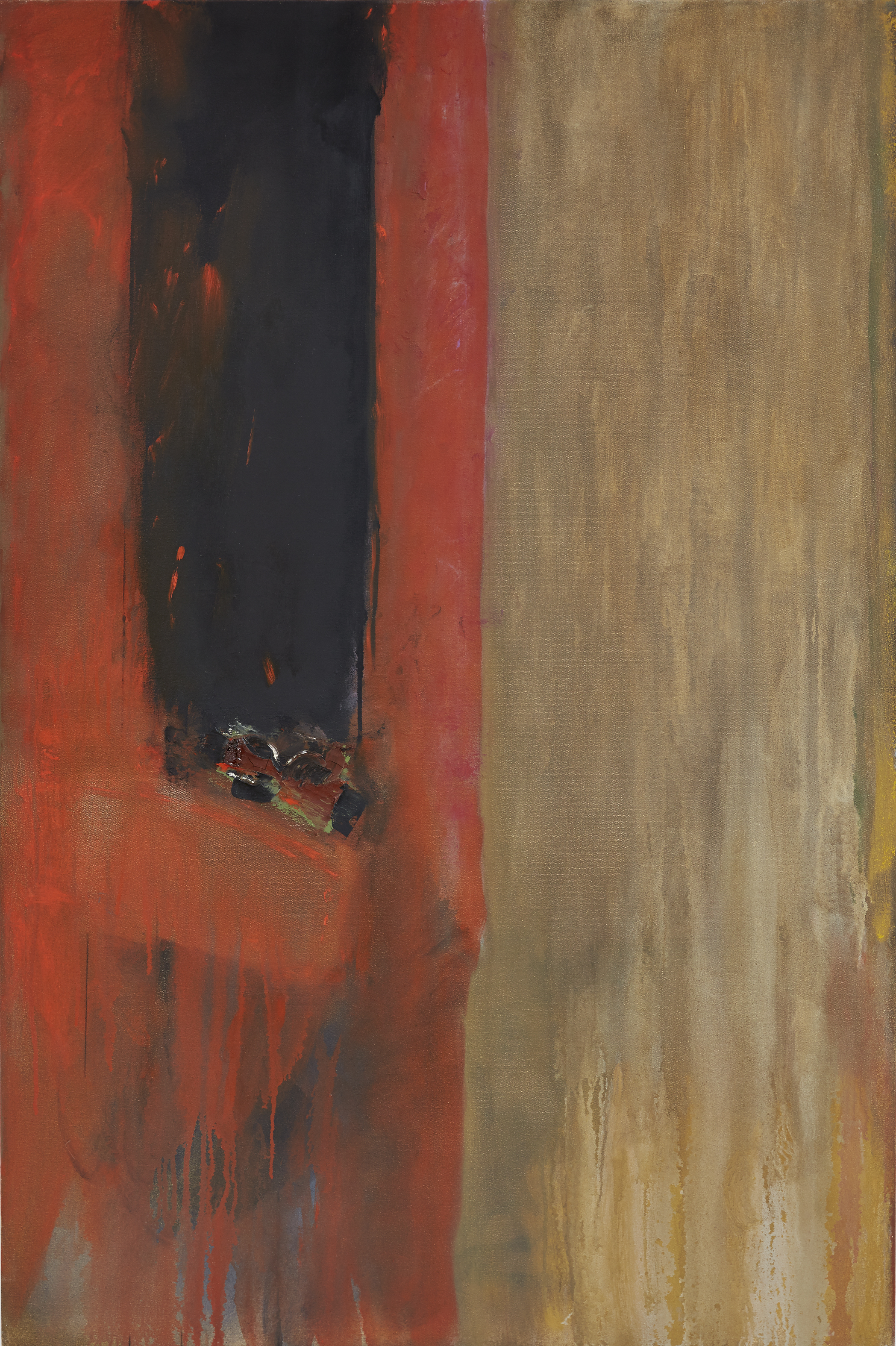 Untitled (Red & Black)