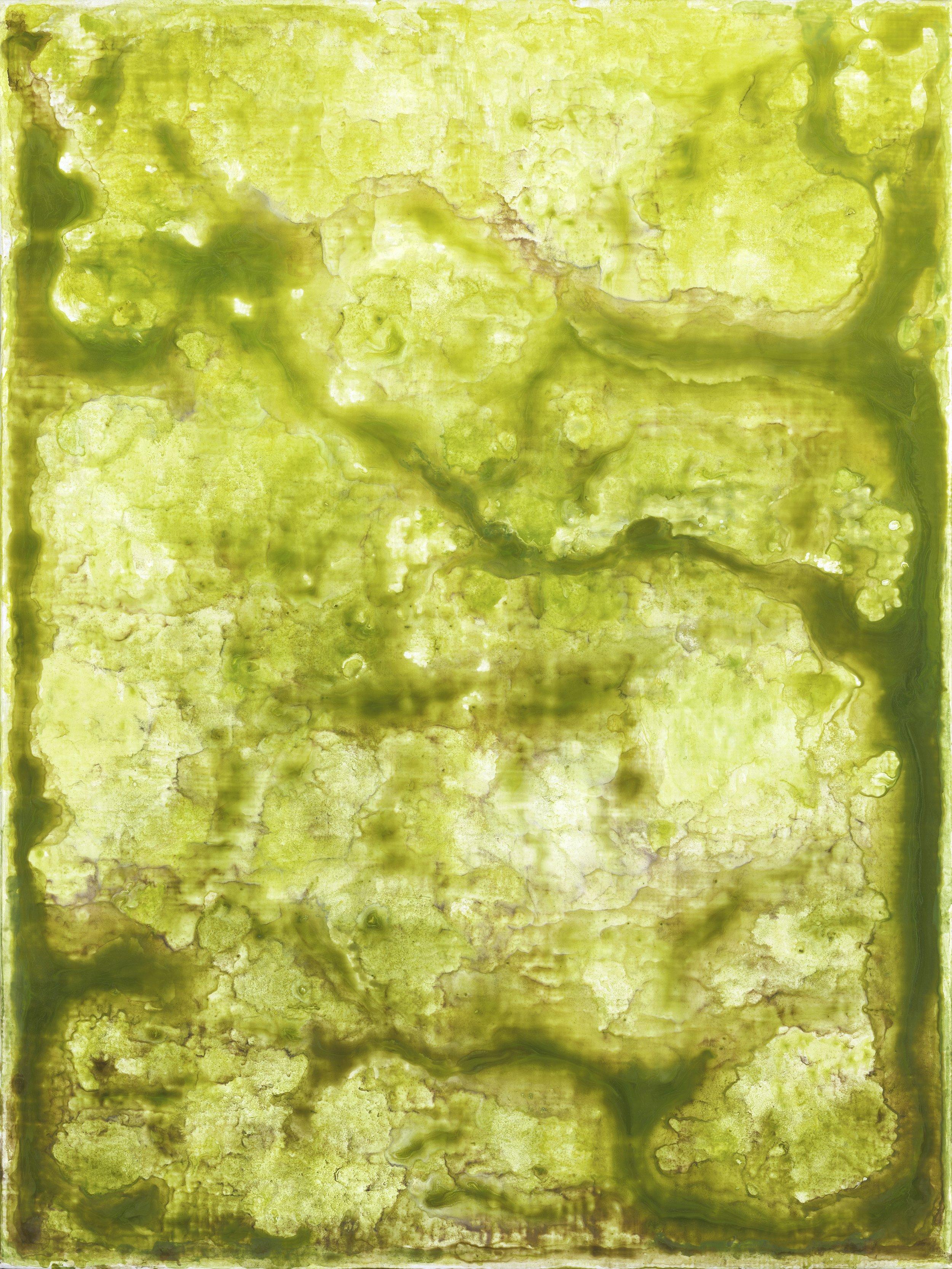 Karen Barth, White Light, 2014,Archival pigment on paper, mounted on panel, 40″ x 30″