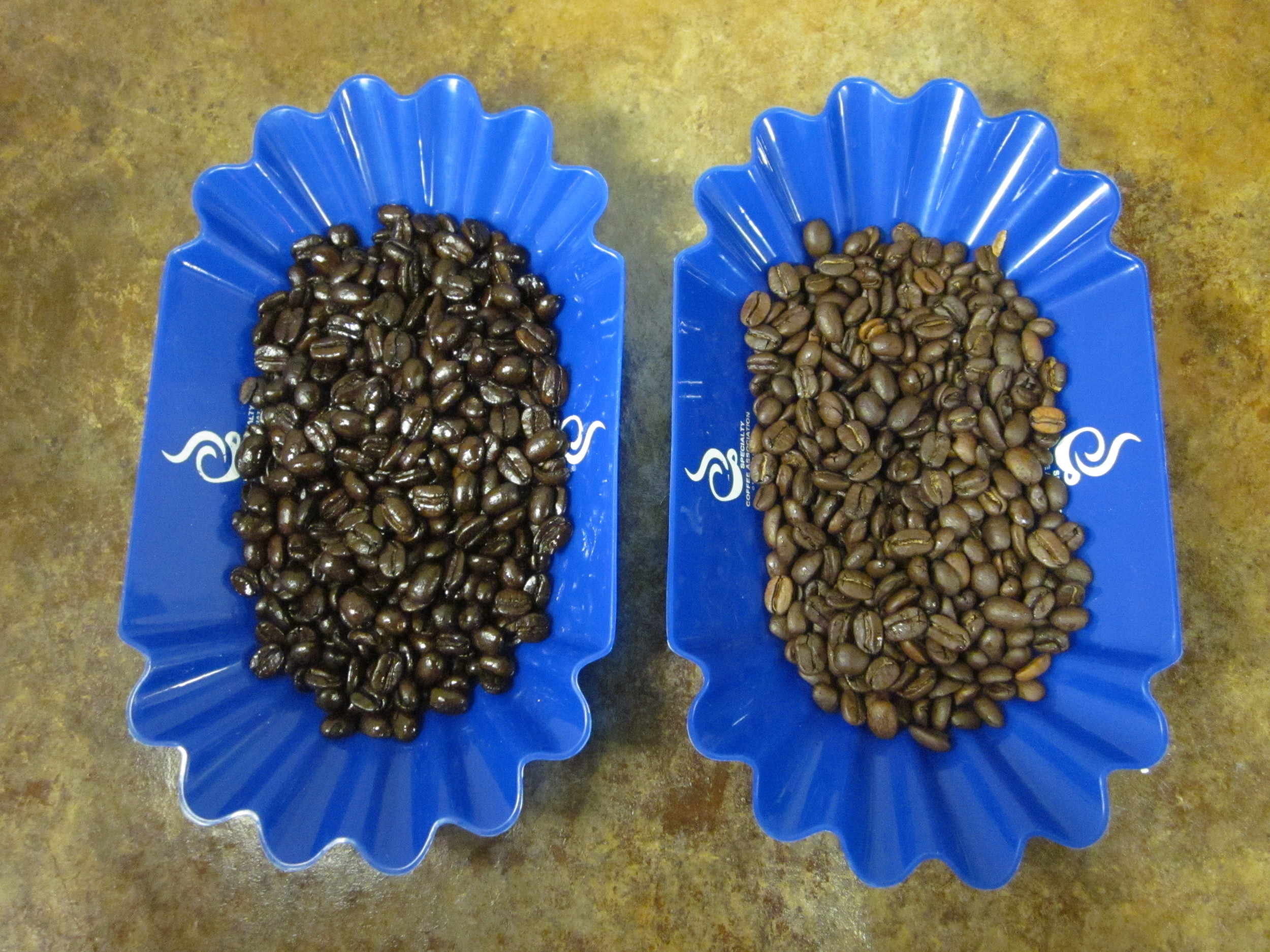 The  darker  the roast, the  bolder  the coffee.
