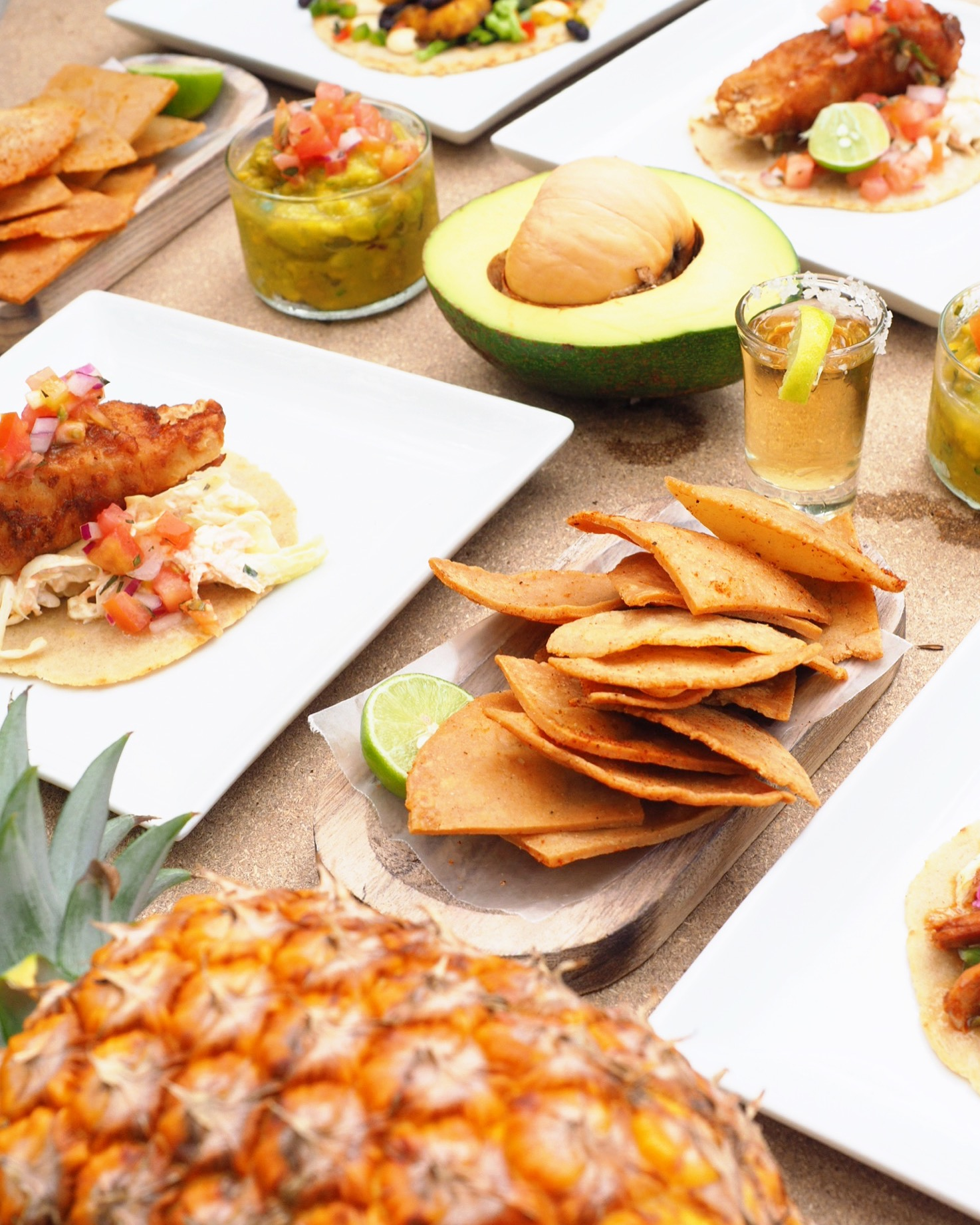 Tacos & Tequila - Serving up delicious fish tacos, kimchi & avocado tacos, fresh pico de galo and hand cut tortillas!