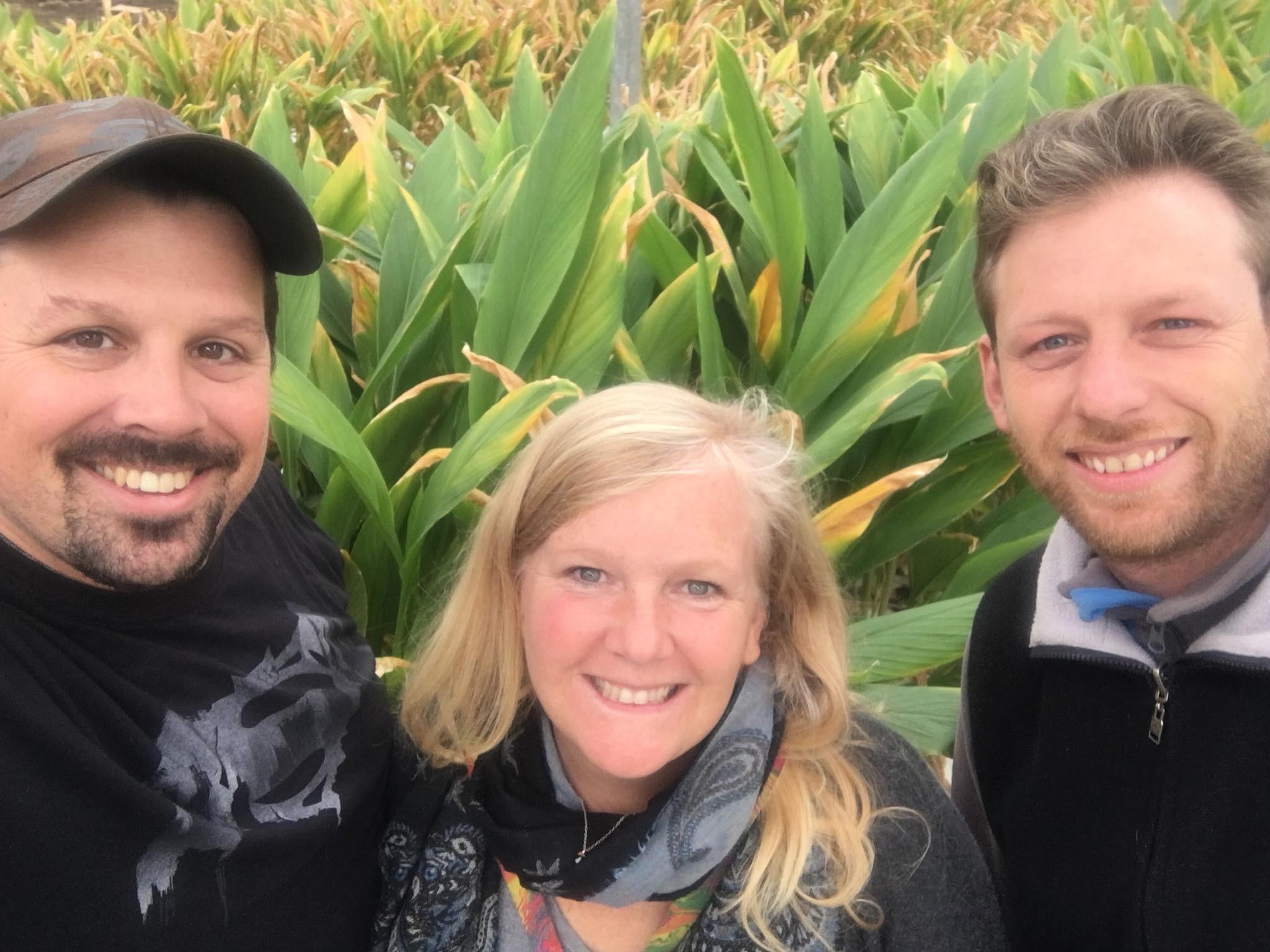 Longview Farms Manager Ryan and Longview Farms Grower Eric Take Moonshine Mama Mel on a Tour!