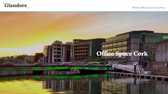 GLANDORE, LAPP'S QUAY, CORK CITY  Bursting with stylish, modern design elements, City Quarter is ideal for individuals, SMEs, MNCs and growing companies. Spread over two floors, combined it can accommodate  flexible workspace ,  coworking  and  private offices    Quick Contact:   info@glandore.ie    +353 (0 1) 669 4700