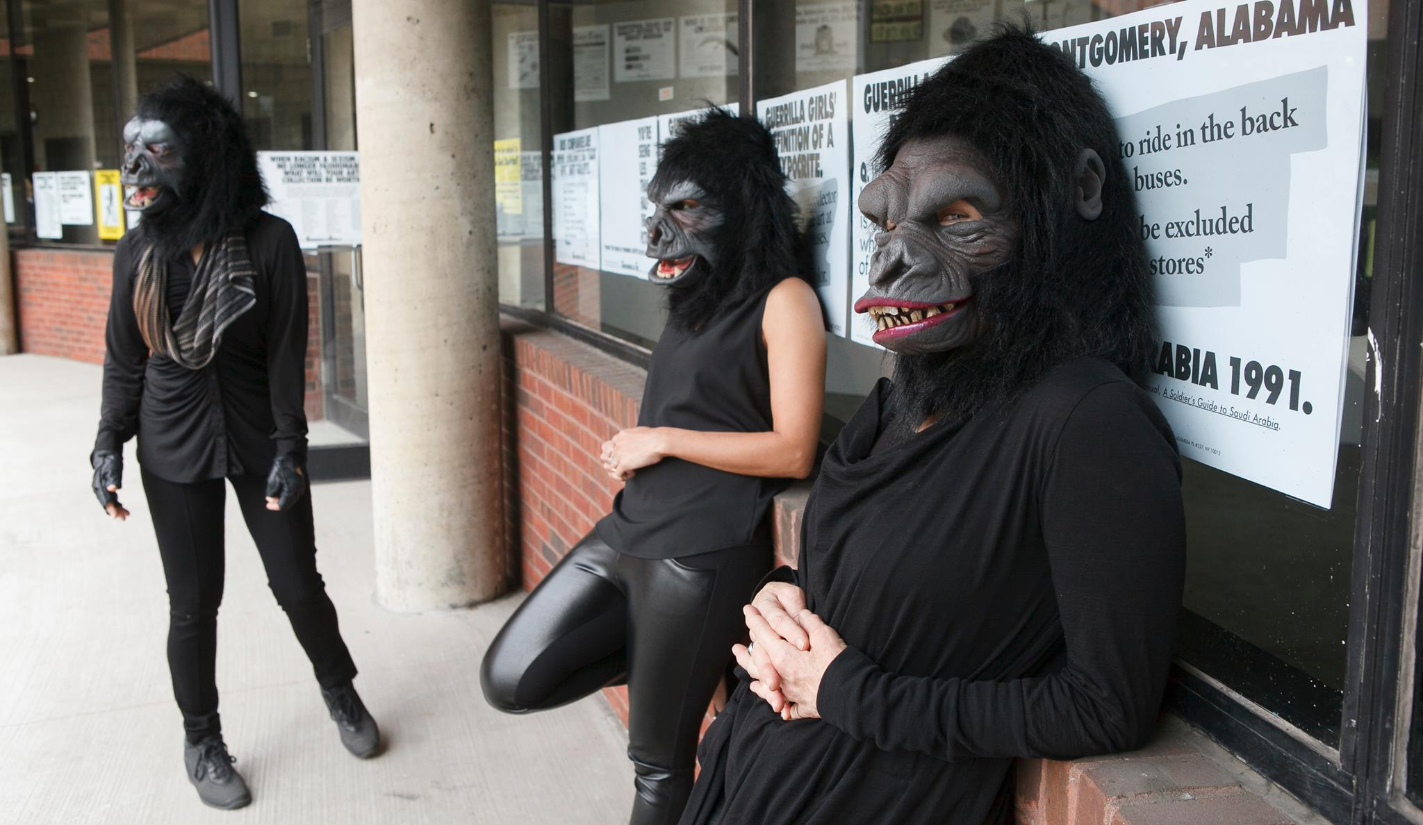 Image by The Guerrilla Girls Facebook