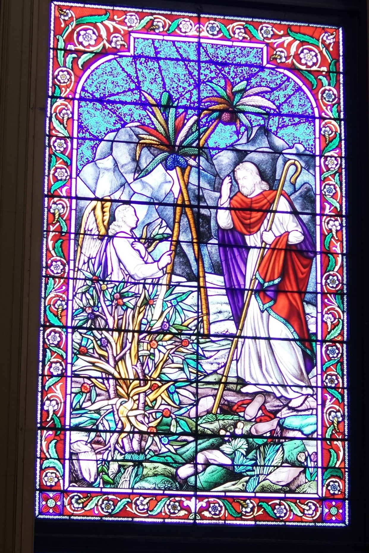 Stained Glass Details.