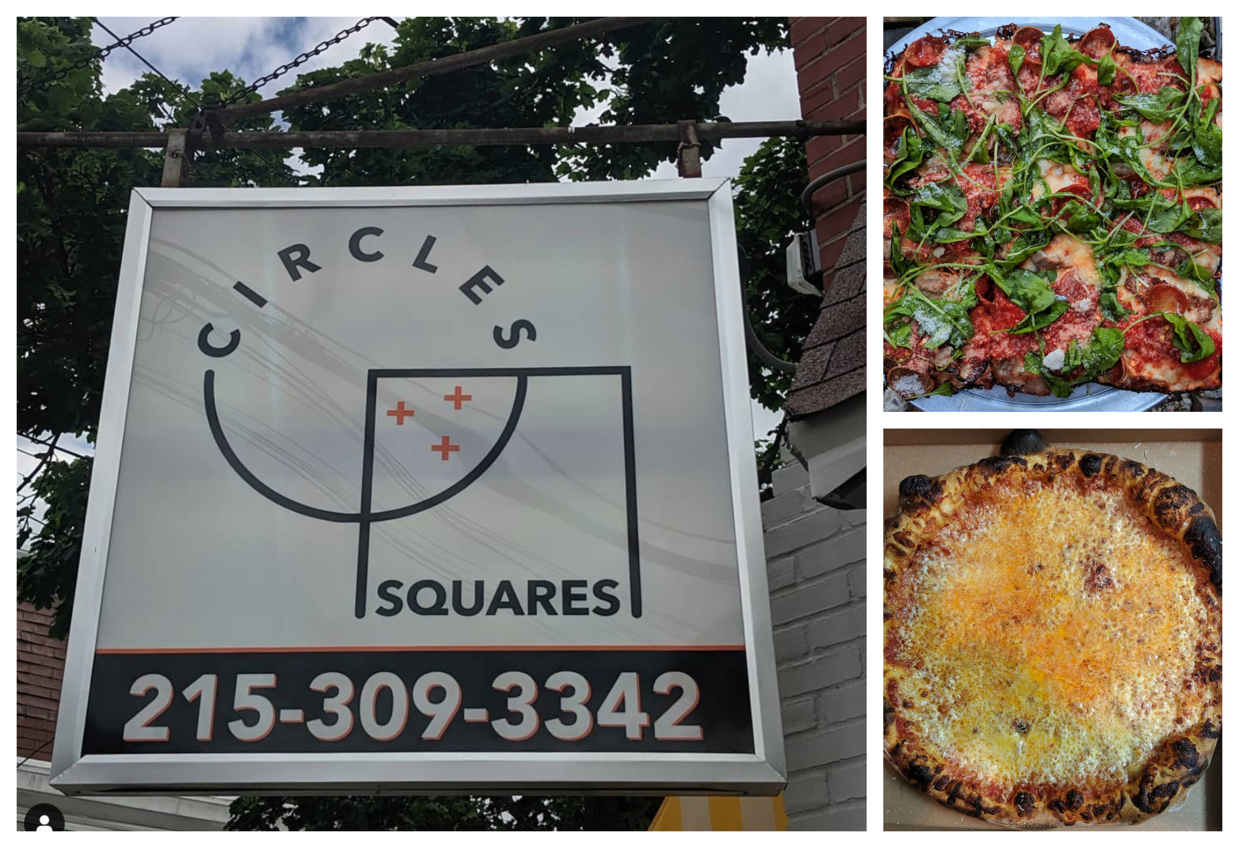 Images Via  @Pizza_Gutt  on Instagram (Circles+Squares Pizza)