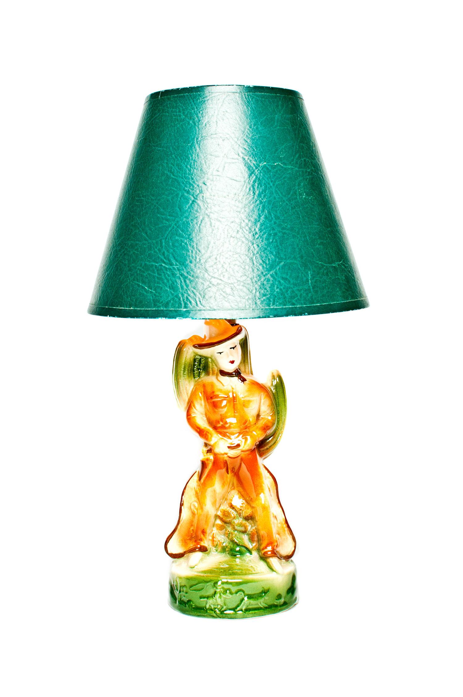 1950's Cowboy Lamp