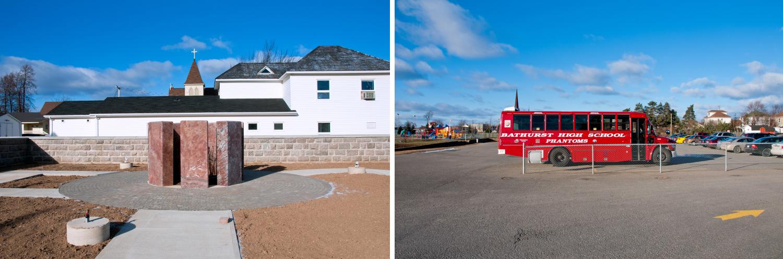 Memorial and Bus