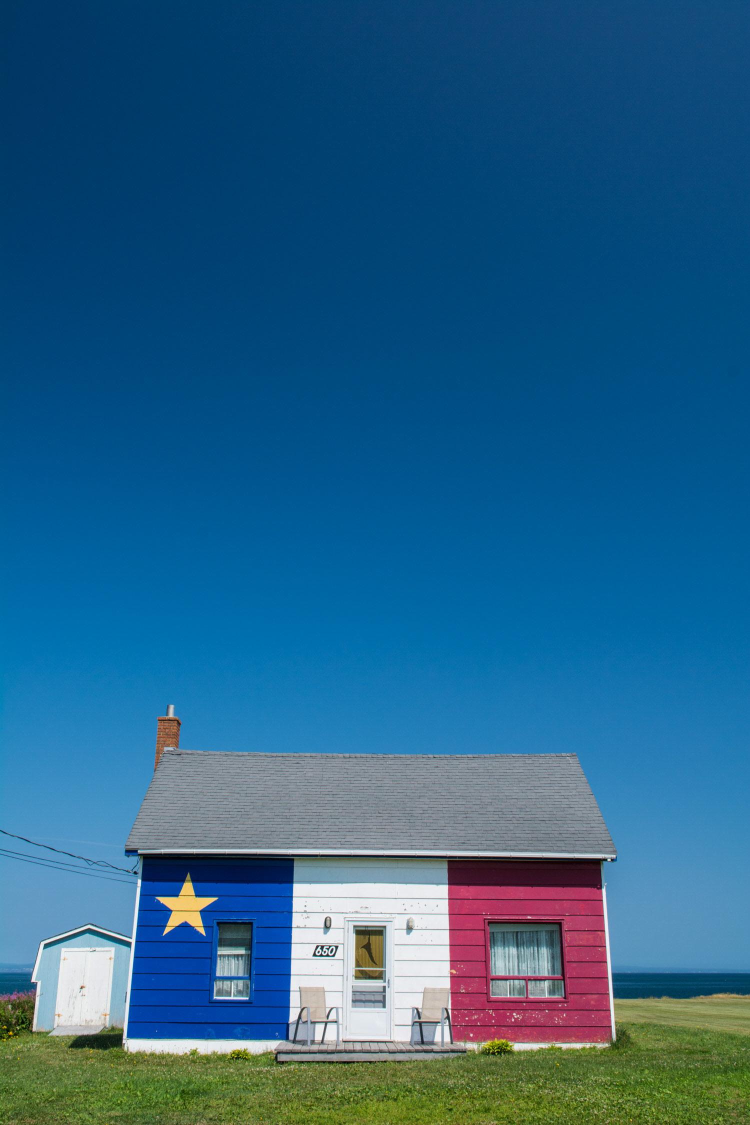 Acadian Flag House