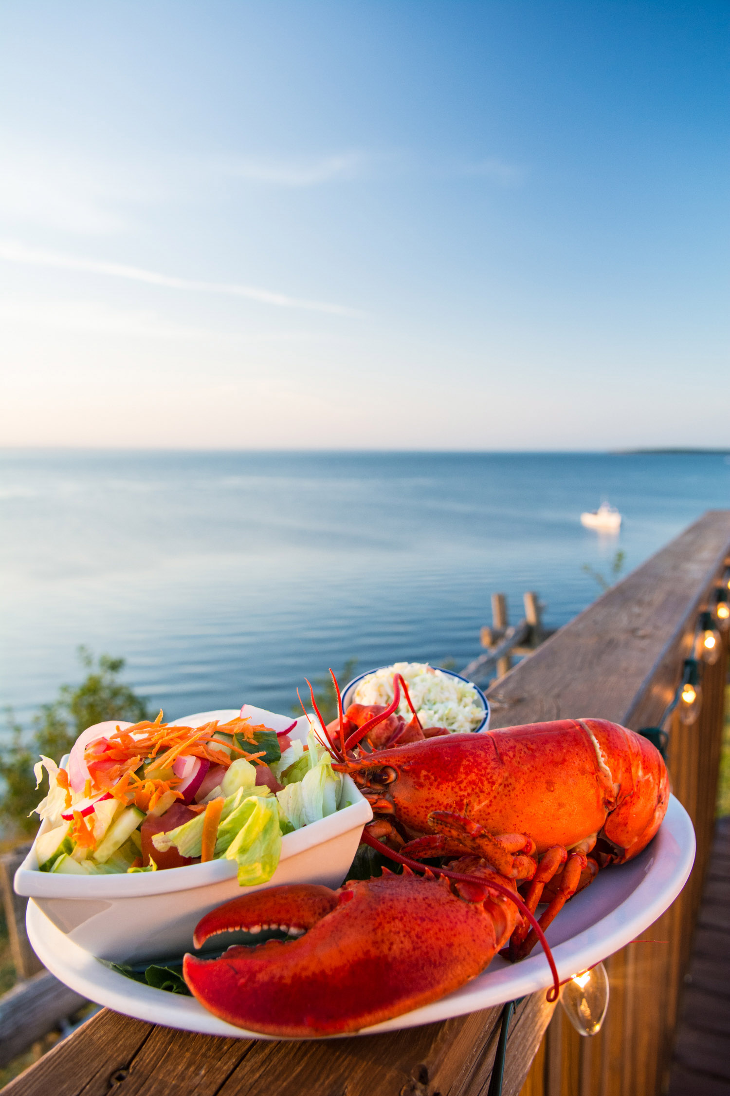 New Brunswick Lobster Dinner