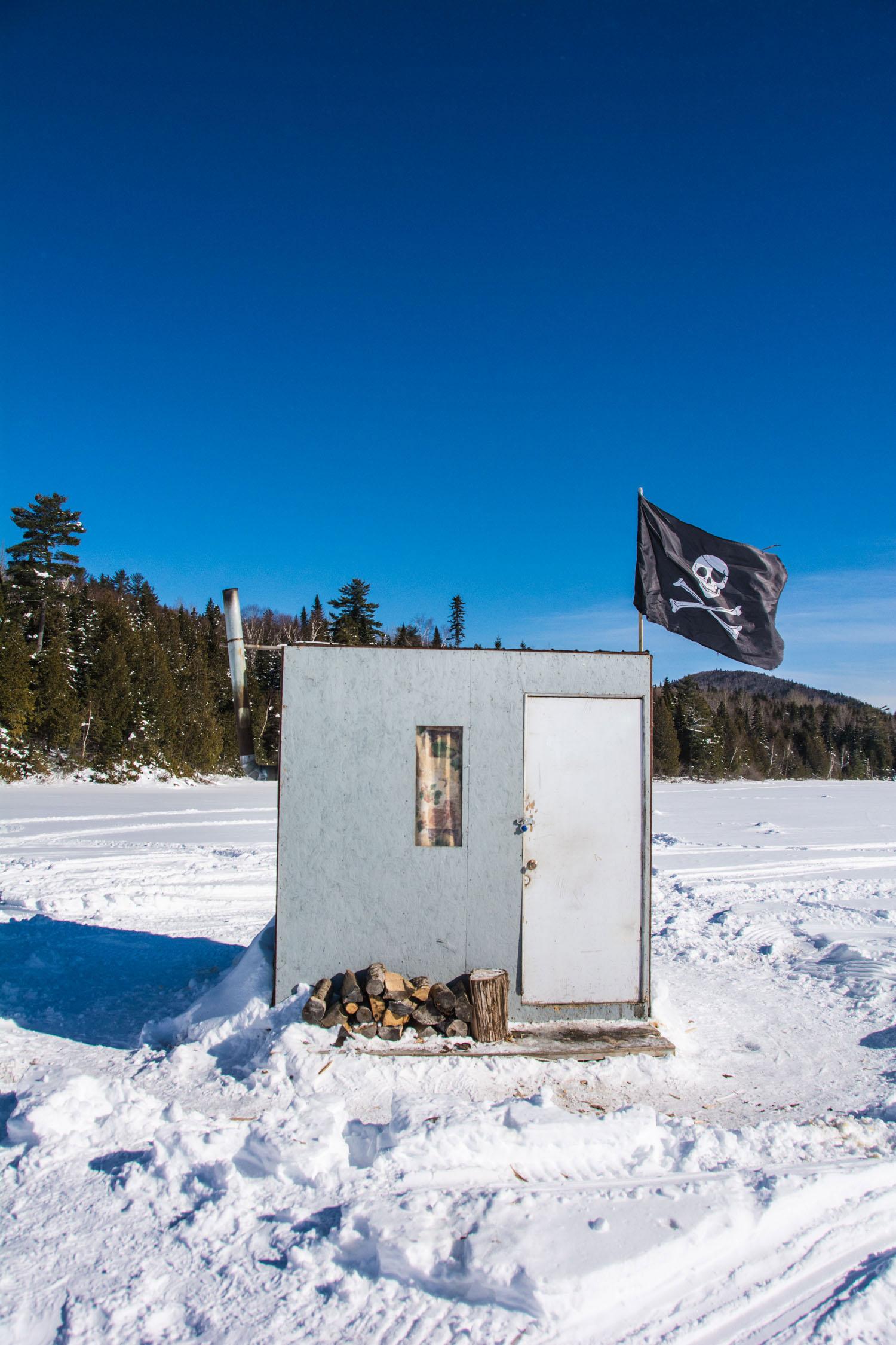 Ice Fishing Hut