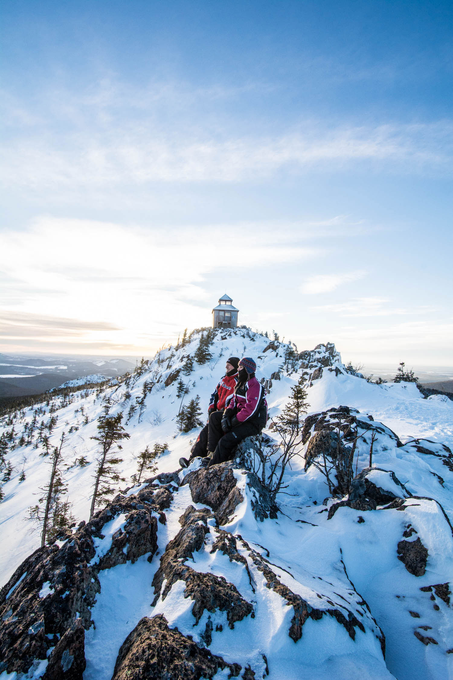 Winter Mountain Hike