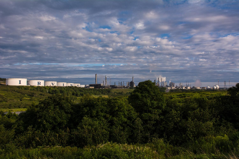 Oil Tanks & Refinery