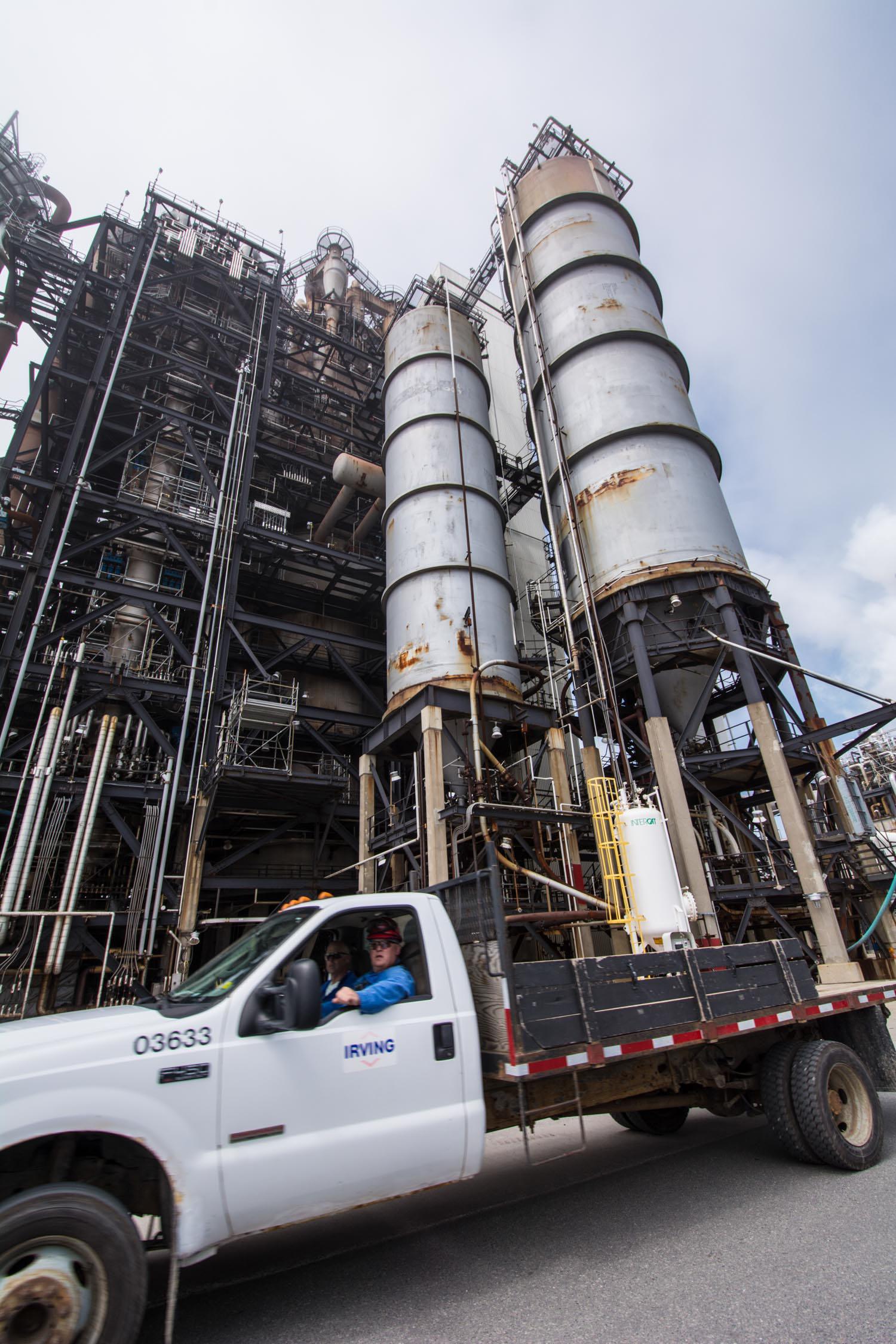 aug05 2014-Bloomberg News-Irving Oil refinery-Saint John NB-photo by Aaron McKenzie Fraser-www.amfraser.com-5700.jpg