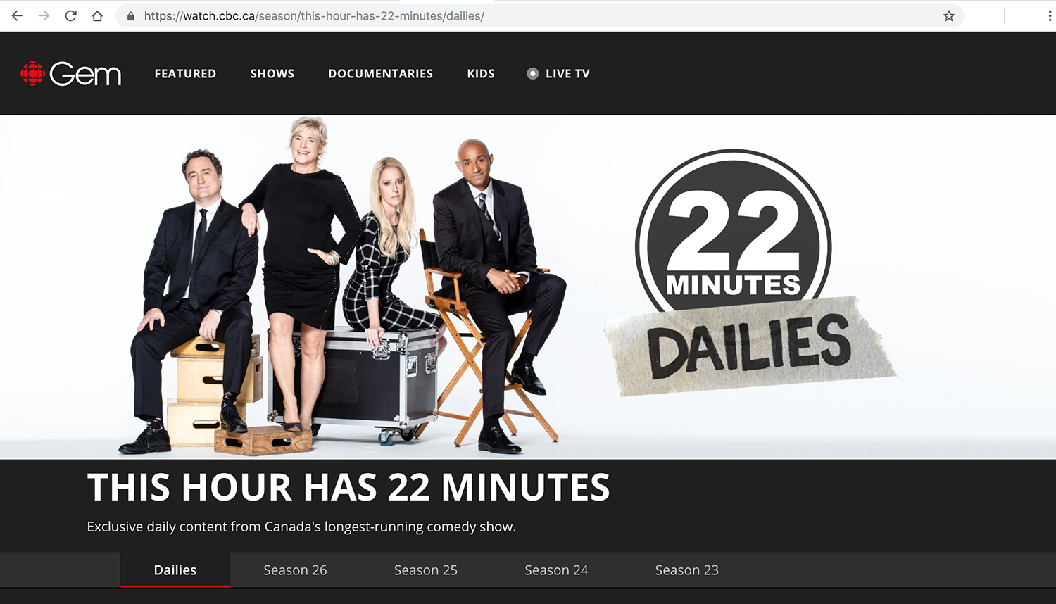 This Hour Has 22 Minutes - Season 26 cast