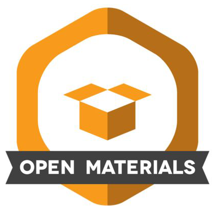 Open Materials Badge