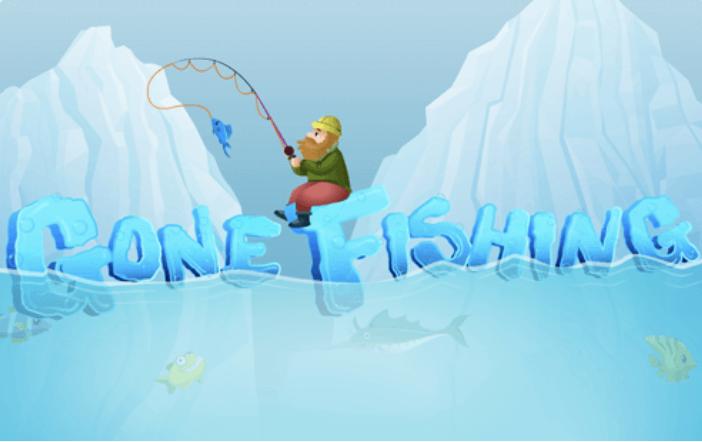 k12 Sample: gone fishing