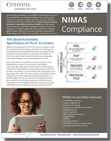 NIMAS Compliance