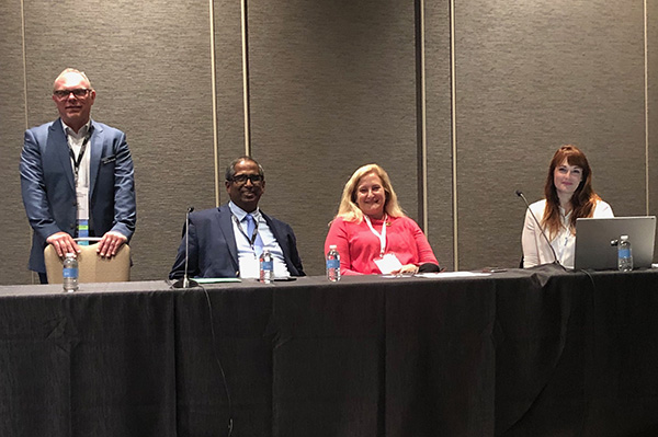 Mike Groth, Atul Goel, Pamela Starr, and Caroline Desrosiers at #SSP2019