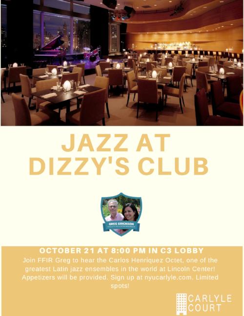 Carlos Henriquez Octet @ Dizzy's Club.png