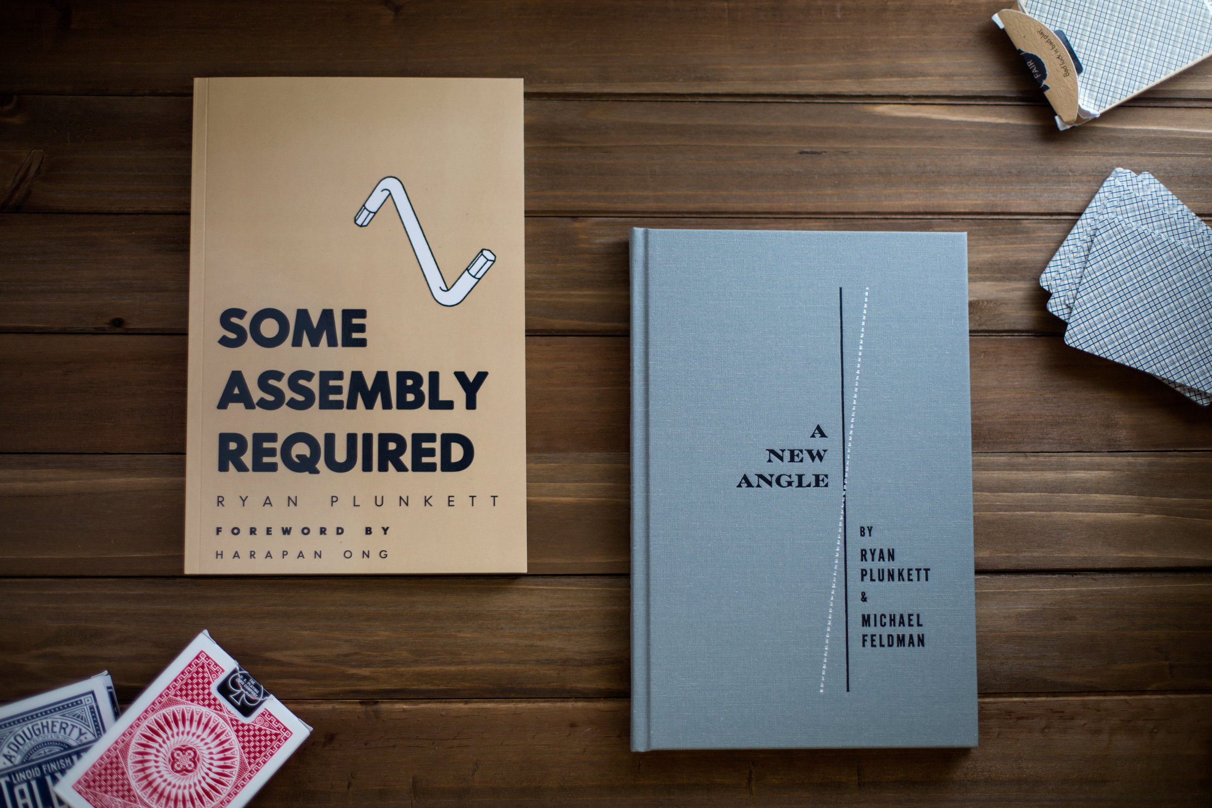 A New Angle By Ryan Plunkett & Michael Feldman / Some Assembly Required By Ryan Plunkett