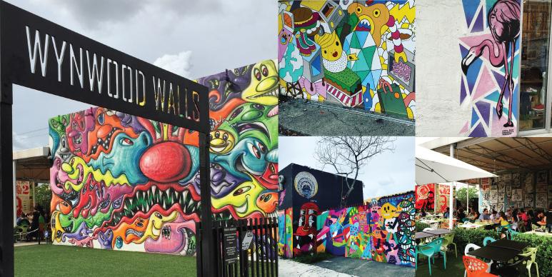 Wynwood Art District Mural Art Wynwood Walls Miami Florida
