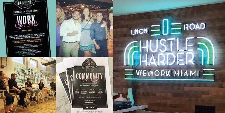 WeWork Miami Branding Coworking Space