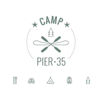 Camp Pier 35 San Francisco Logo Design by Kimberly Schwede Graphic Design.png