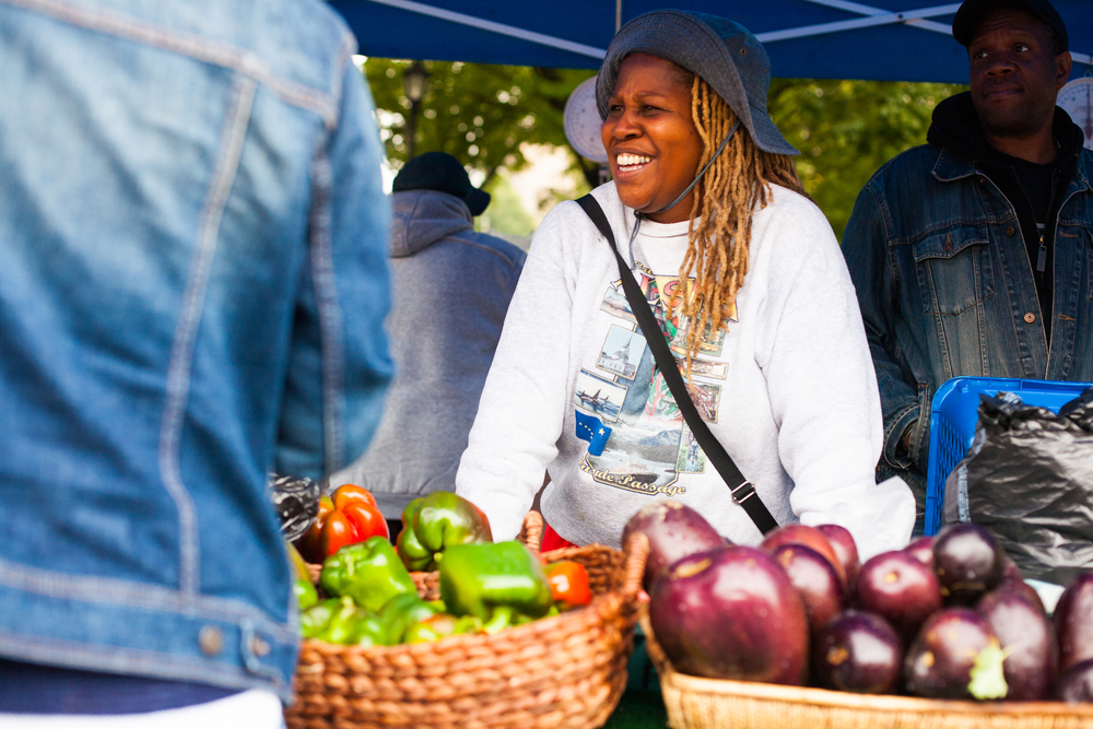 Karen's Motto: If you come to market hungry, you won't leave market hungry