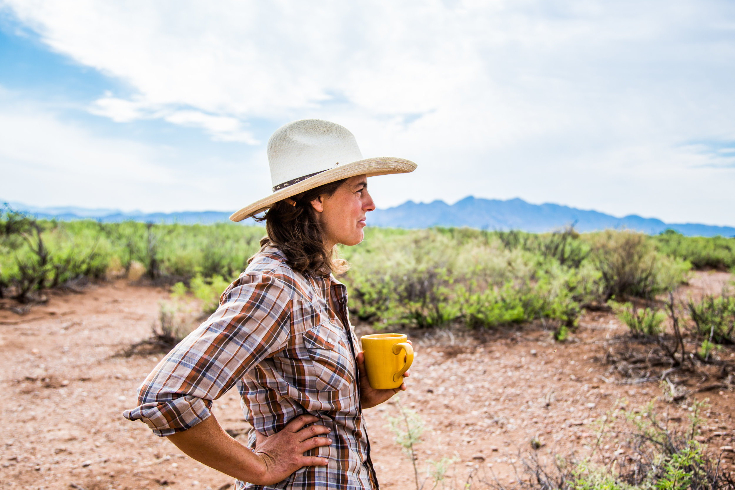 Arizona has the highest proportion of female farmers – but conditions in this dry desert landscape aren't easy, and rural isolation has created a tapestry of challenges