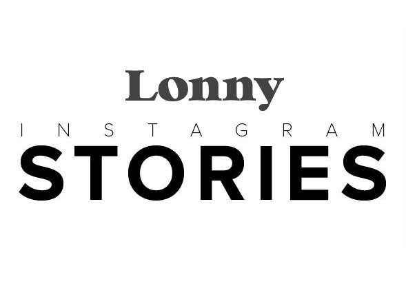 Lonny Instagram Stories