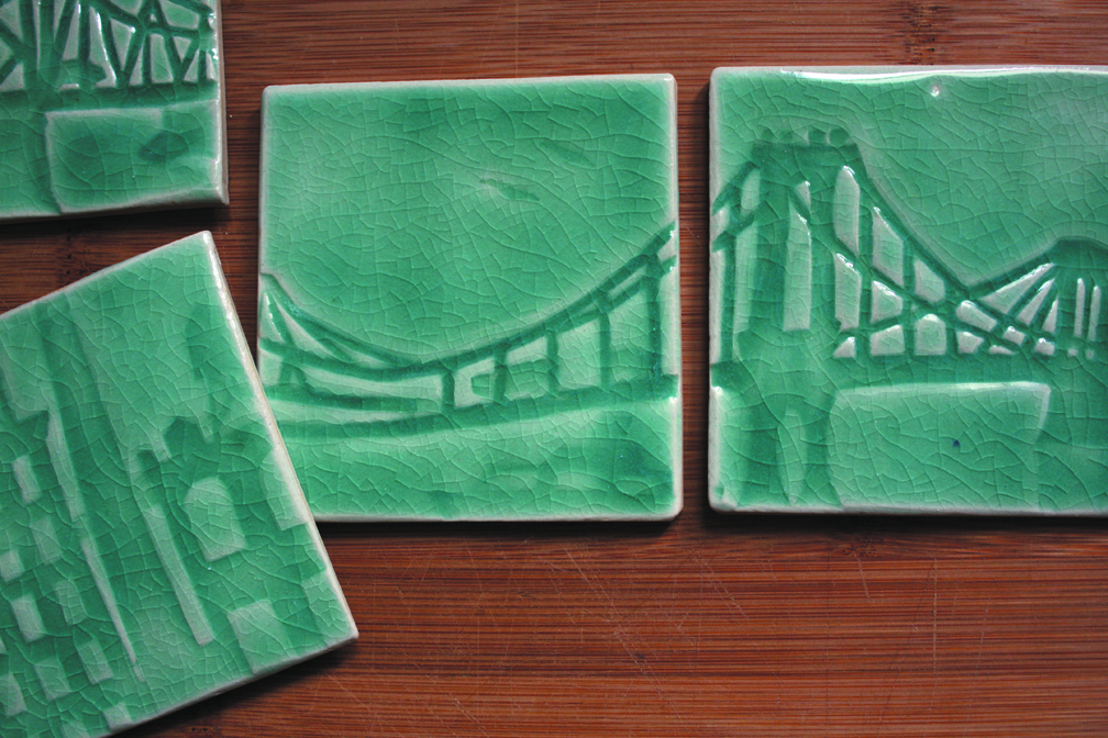Coasters and other Items Available at the Holiday Market