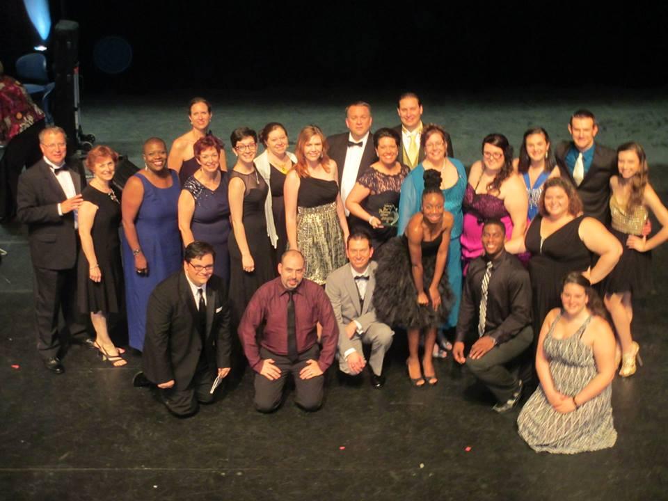 The  Aida  cast reunites.