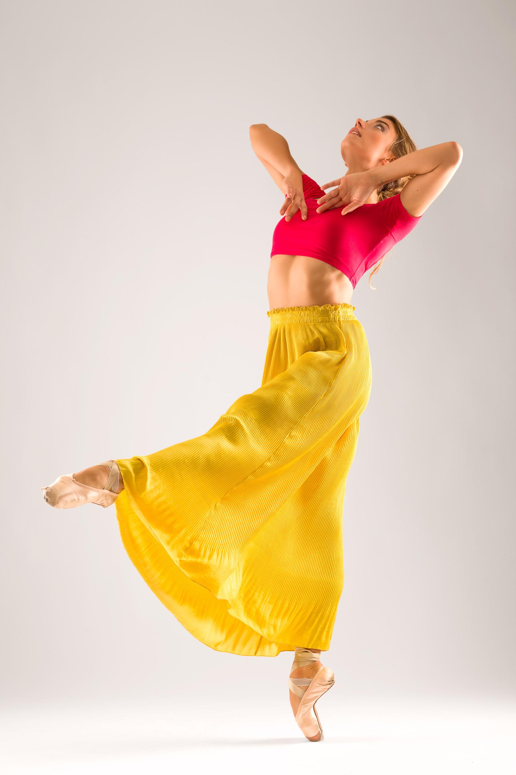Danseres Paola Ghidini