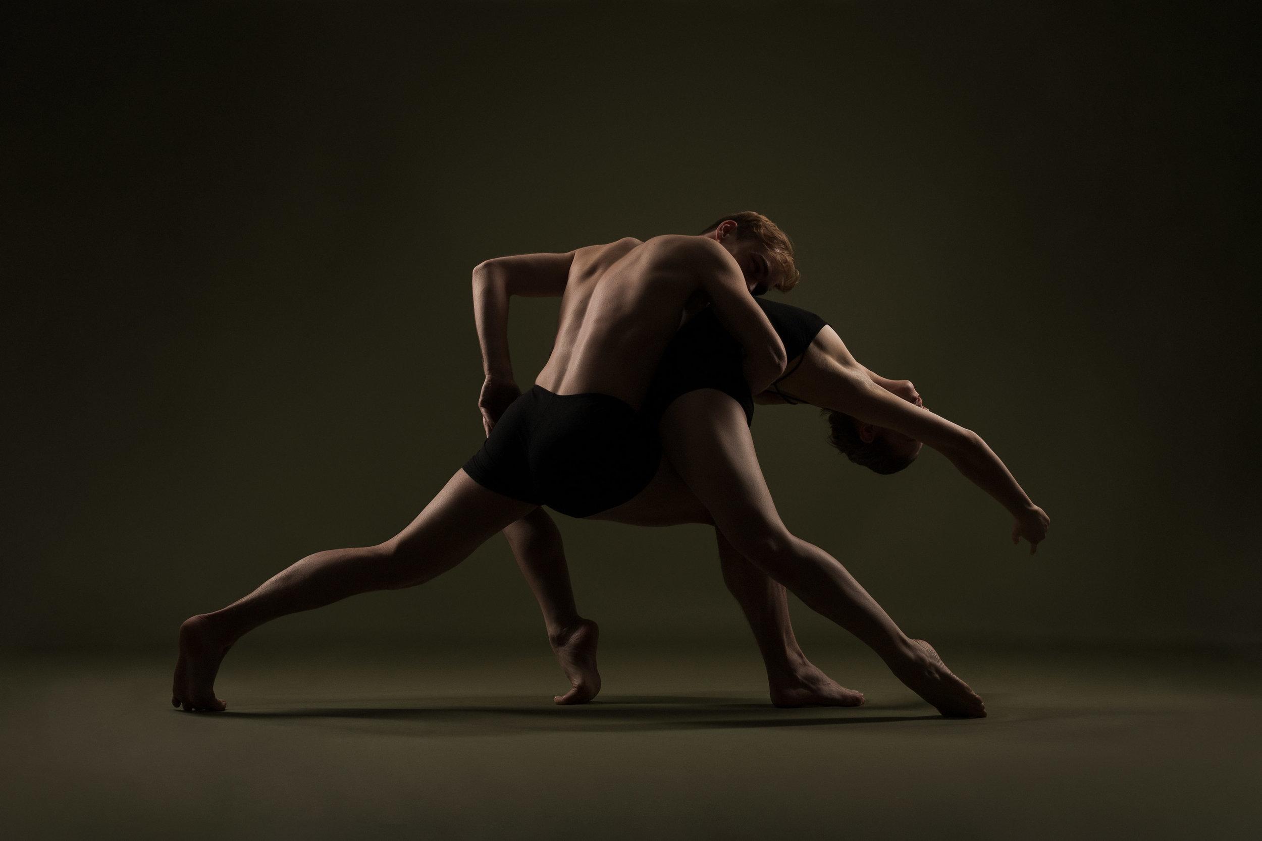 Dansers Thijs Hogenboom & Vera Goetzee
