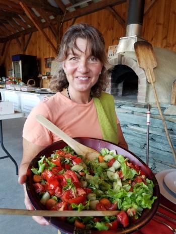 Farm to table dinner at Hartshorn Farm, Waitsfield, VT