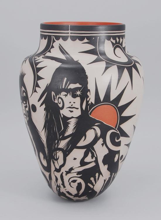 Virgil Ortiz Archer Pot.jpg