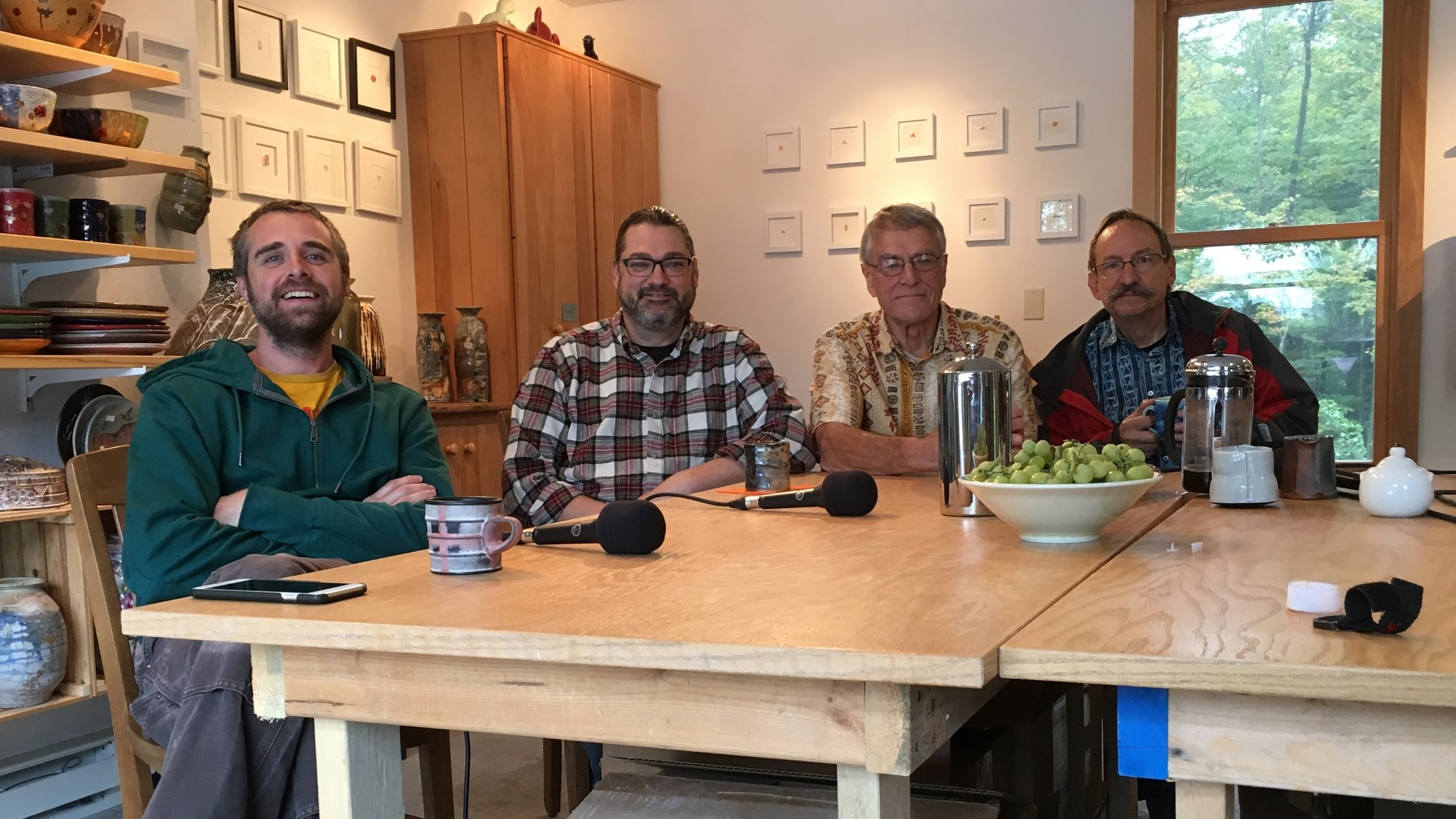 Justin Rothshank, Mark Goertzen, Marvin Bartel, and Dick Lehman
