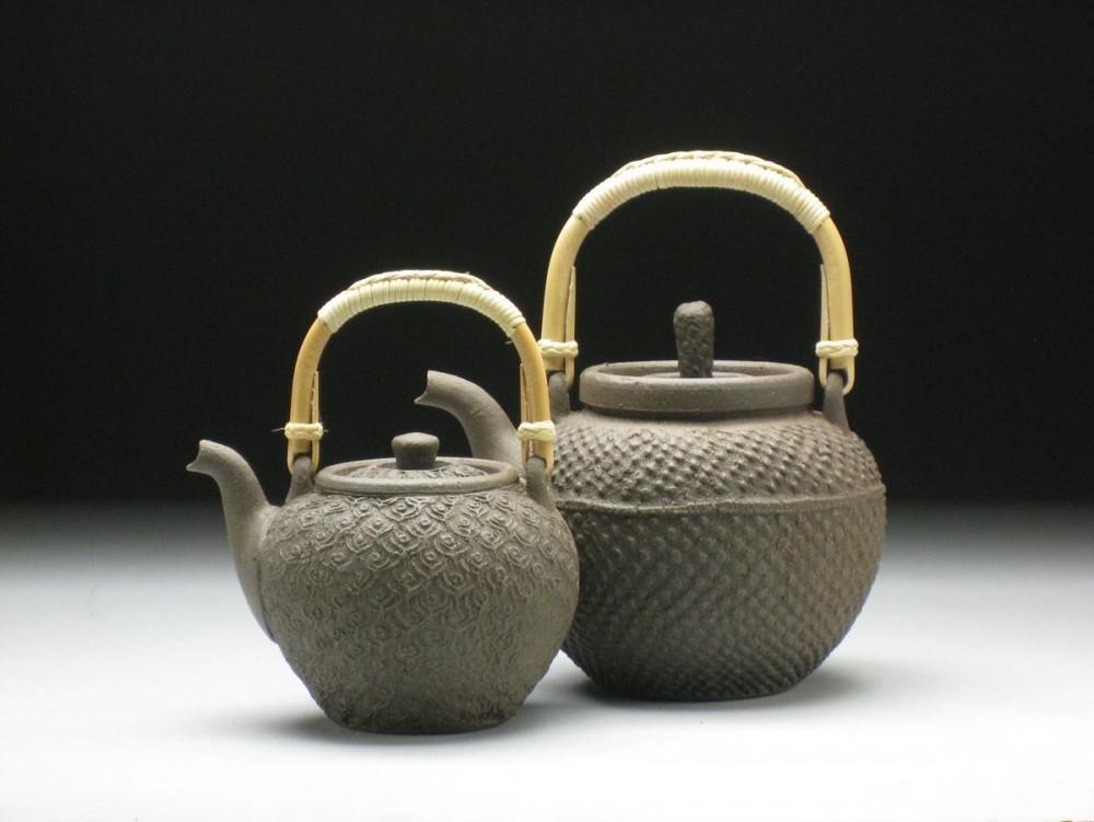 John Neely teapot pair.jpg