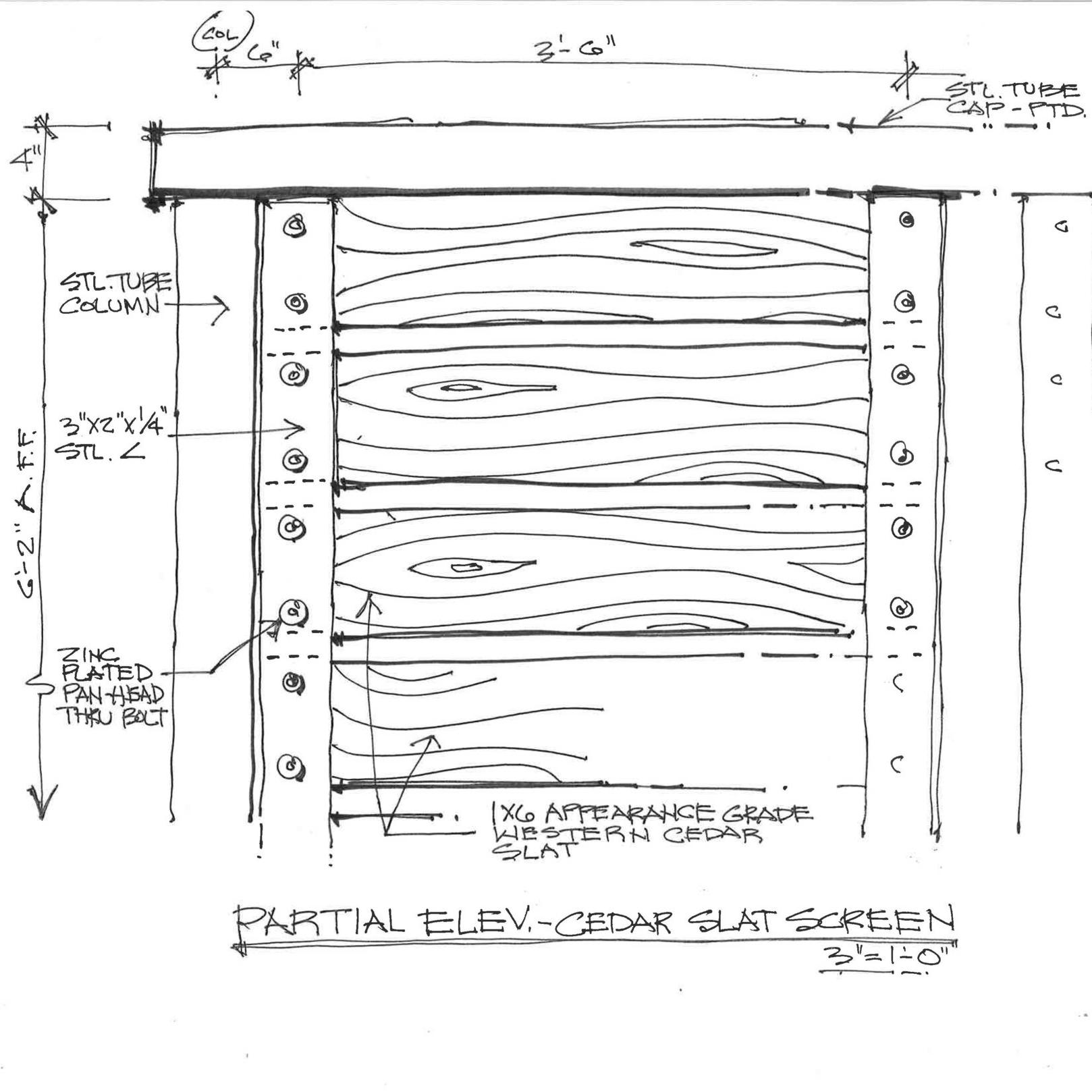 Partial Elevation Cedar Slat Screen.jpg