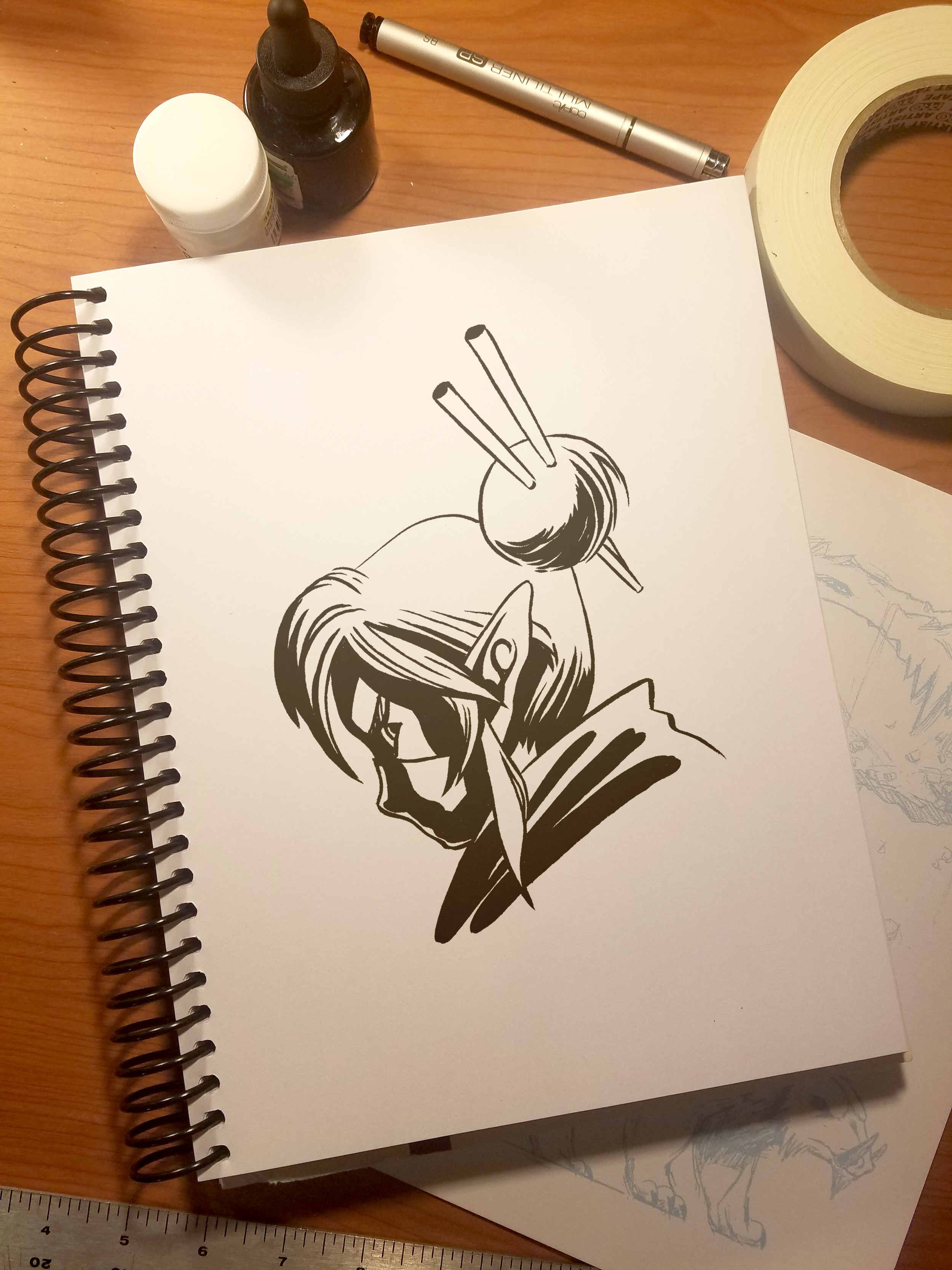 Linktober_2017_08_Mask_Sketchbook.png