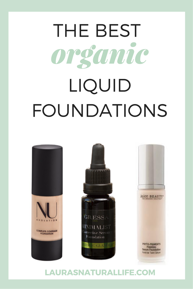 The Best Organic Liquid Foundations