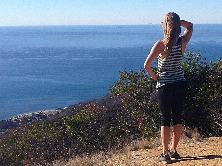 Favorite hikes and trail runs in the hills overlooking the Pacific Ocean and Malibu, CA.